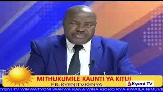 WAAMUKATA MUKAMBA WINAKE ALBANUS WAMBUA NA DR  WATHE NZAU,DEPUTY GOVERNOR KITUI COUNTY