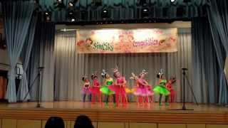SimCity dance competition 2013