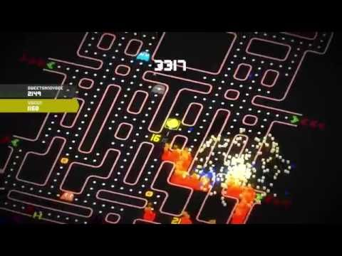 Pac-Man 256 - Green Beam