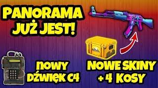 PANORAMA i NOWA SKRZYNKA [4 KOSY] - Omówienie UPDATU! [CS:GO]