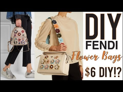 b72508fc285d DIY  How to Make the Fendi Floral Bags  6! - by Orly Shani - YouTube