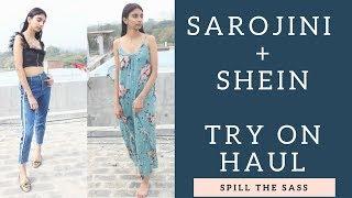 SAROJINI NAGAR + SHEIN TRY ON HAUL / Spring Summer Haul / Dolly Singh