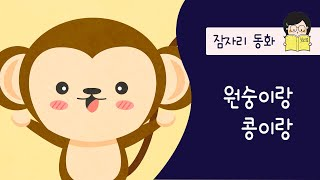 원숭이랑 콩이랑_잠자리동화_잠잘때 듣는 동화_호호샘의 …