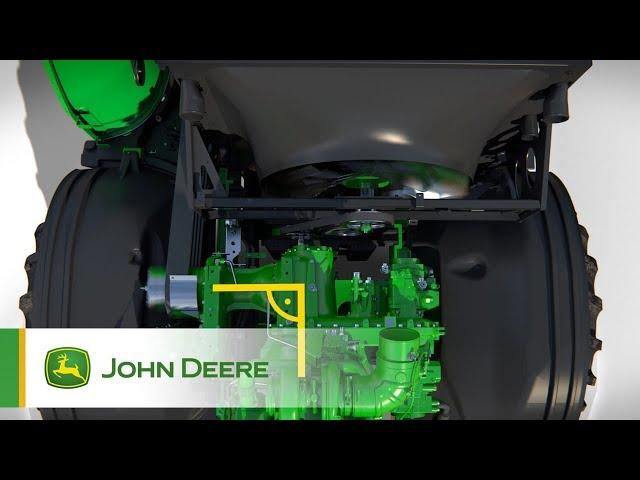 John Deere - Série 8000 - cinématique