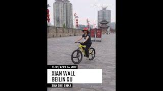 XIAN.  City Wall. Muslim Street. Datang Silk Road and Sleepless City