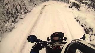 Talven ekaa lenkkiä Video