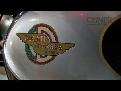 Clymer Manuals Ducati 125 Bronco Vintage Motorcycle Racer Walk Around Video