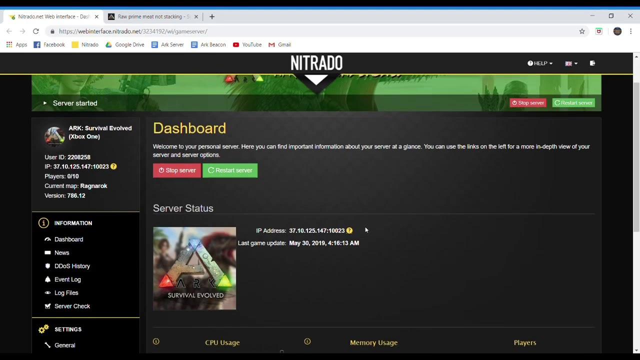 How To Make Items Stack on Ark Nitrado Servers (Ark Survival Evolved)