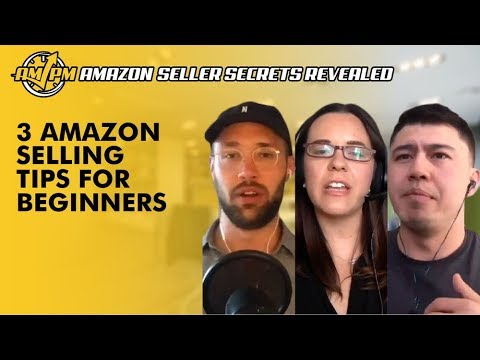 3 Amazon Selling Tips for Beginners Who Are Just Getting Started