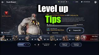Black Desert Mobile Level Up Tips