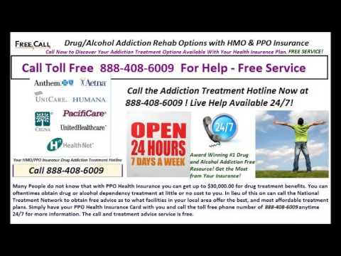 Drug & Alcohol Detox/Rehab with PPO or HMO Insurance