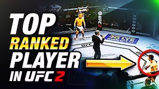 FIGHTING the #1 RANKED Player in EA Sports UFC 2!