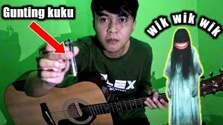 Download lagu MENIRU SUARA KUNTILANAK DLL | PAKE GUNTING KUKU DI GITAR AKUSTIK