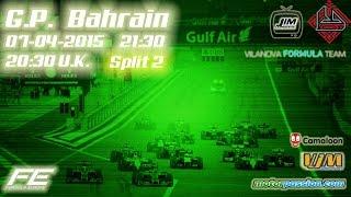 F1 2014 - Formula Europe 2015 Gulf Air  Bahrain Grand Prix Formula One