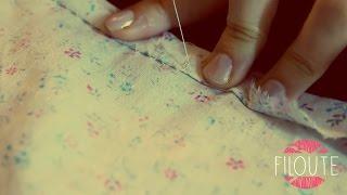 Pour toutes celles qui souhaitent faire une couture à la main la plus discrete possible, il existe la technique du point invisible. Ce point, lorsqu'il est fait avec un fil ...