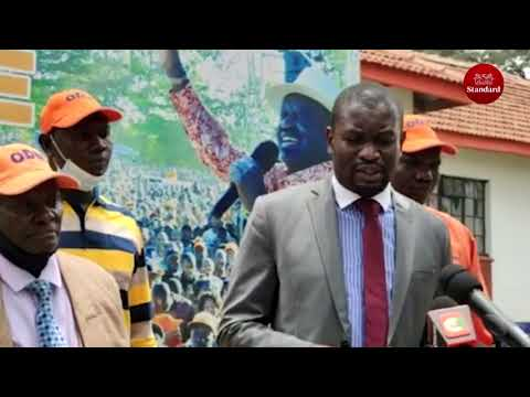 ODM says it will not push for removal of Chebukati, also urges Gov't to extend subsidies on fuel