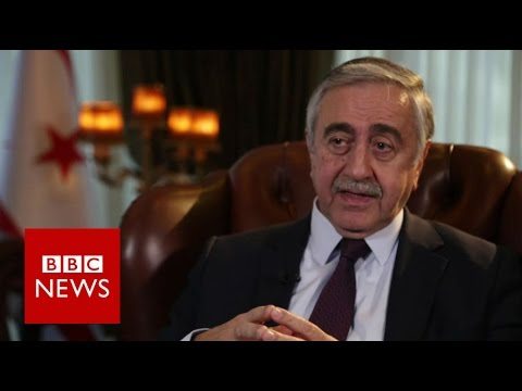 "Cyprus peace talks ""It's the last chance for a federation"" Mustafa Akinci    - BBC News"