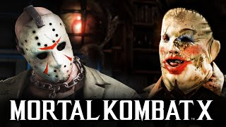 Download Mortal Kombat X -  КОЖАНОЕ ЛИЦО ПРОТИВ ДЖЕЙСОНА Mp3 and Videos