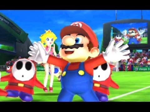 Mario Sports Superstars - Football - Mushroom Cup