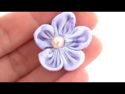 Passo a Passo - Flor de fuxico com pétalas arredondadas