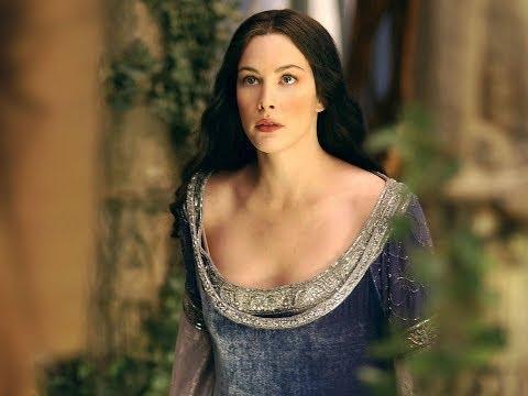 Лив Тайлер Арвен гворит по эльфийски в прямом эфире очень секси Liv Tyler speaks Elvish