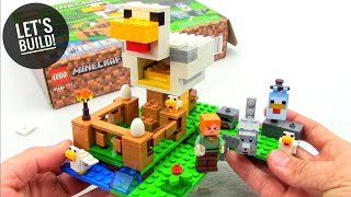LEGO Minecraft: The Chicken Coop 21140 - Let's Build!