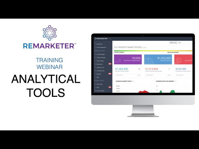 REMARKETER Training - Analytical Modules