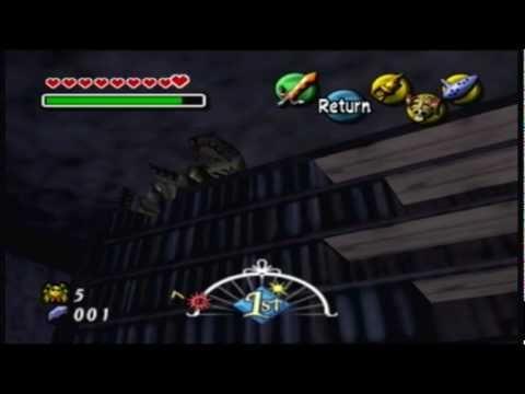 Let's Play: Zelda Majora's Mask Part #38: Oceanside Spider House of Desynch