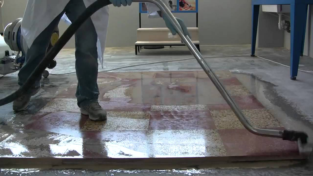 Terrazzo Floor Polishing How To Polishing Floor With Klindex System