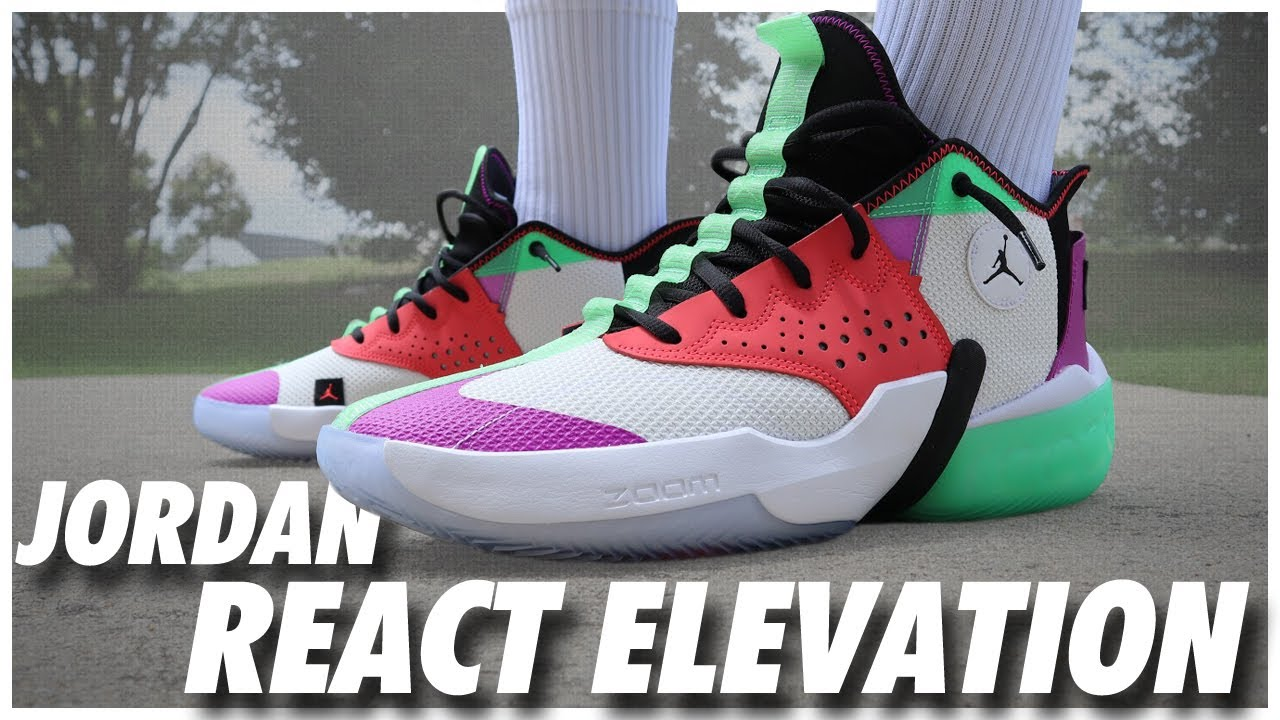Jordan React Elevation - WearTesters