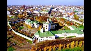 Тайны Спасо - Преображенского монастыря в г. Ярославль