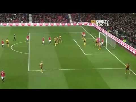 Primer Gol de Marcos Rojo en Manchester United