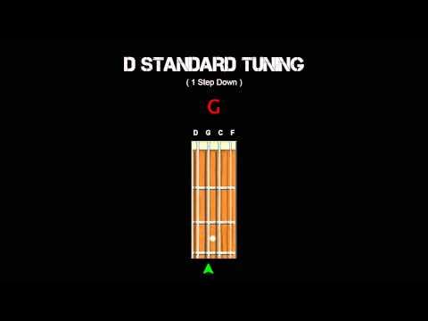 Bass Tuning - D Standard