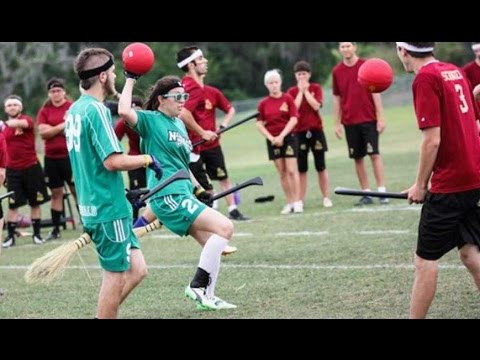 QUIDDITCH IM REAL LIFE ?! Quidditch WM in Frankfurt