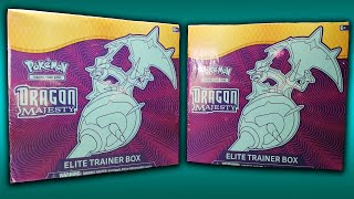 BEST ELITE TRAINER BOXES! // POKEMON DRAGON MAJESTY #1