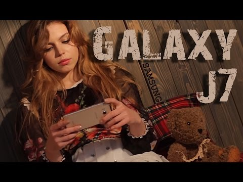 Видео-обзор цельнометаллического смартфона Samsung Galaxy J7 (2016)