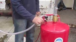 18 gallon oil drainer