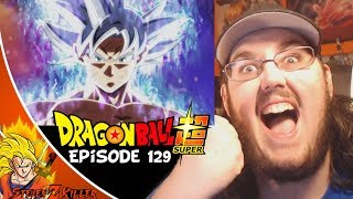 Dragon Ball Super Episode 129 HD English Subbed (GOKU MASTERED ULTRA INSTINCT VS JIREN!) REACTION!!!