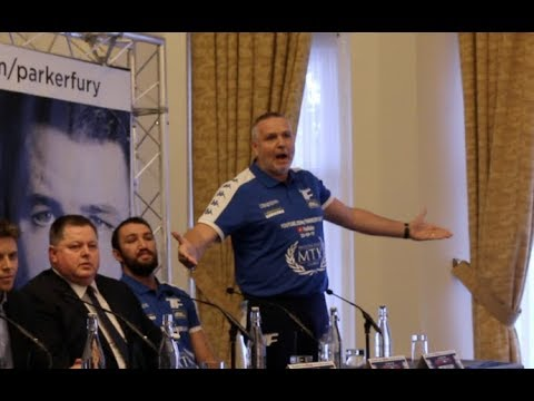 UNREAL BEEF!! - RAGING PETER FURY ABSOLUTELY LOSES IT AS HE IS CONFRONTED BY PROMOTER DAVID HIGGINS