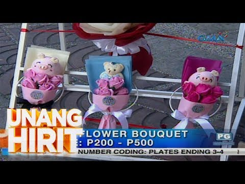 Unang Hirit: Valentine's Day Gift Suggestions: Paandar na Bouquet