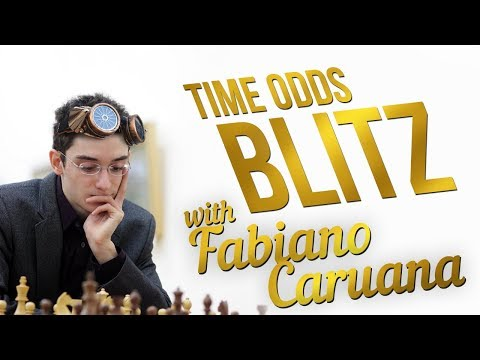 Fabiano Caruana TIME ODDS Blitz Chess