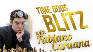 Fabiano Caruana TIME ODDS Blitz Chess