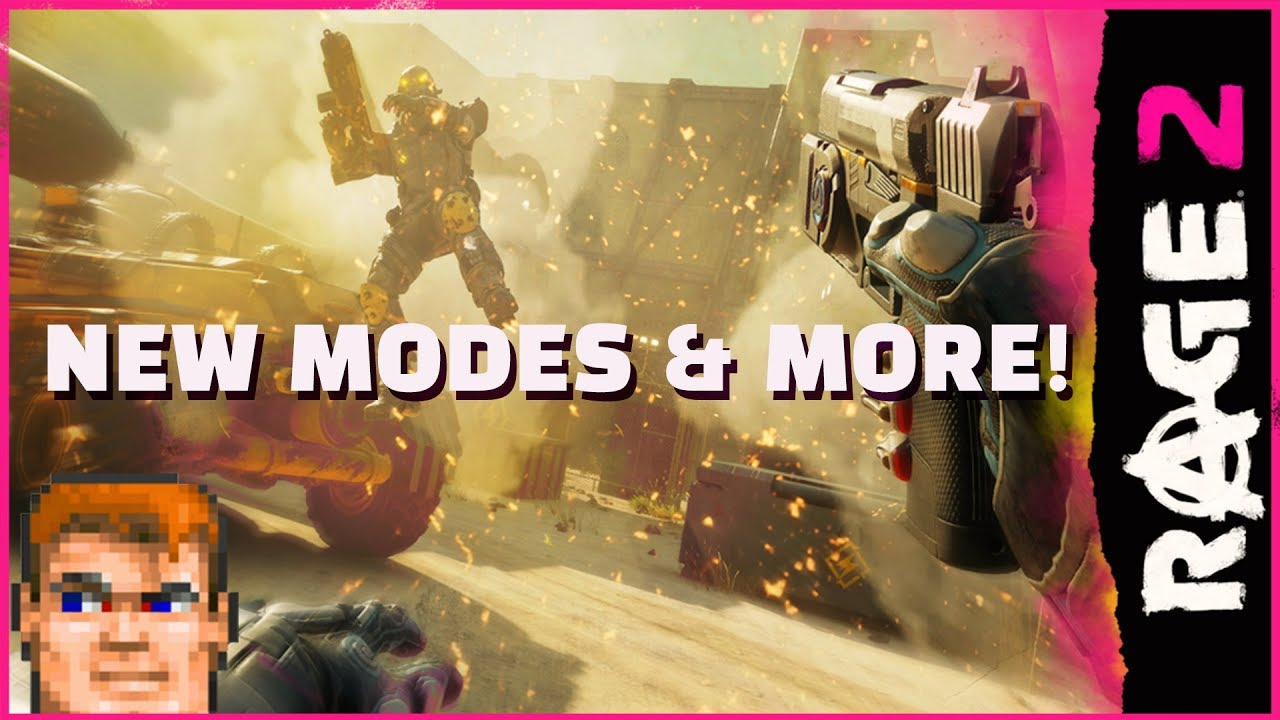 RAGE 2 - Insanity Never Ends - New Modes & More! thumbnail
