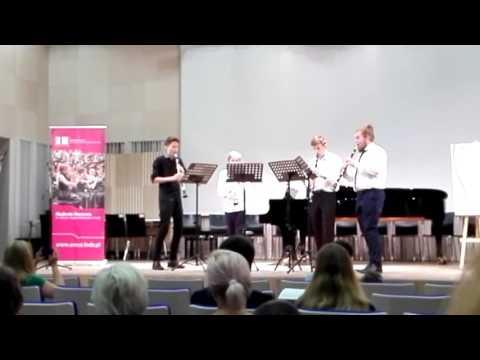 Summertime by George Gershwin arr. Art Marshall clarinet quartet