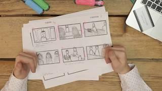 Как правильно делать раскадровку сценария  фильма/клипа/рекламы