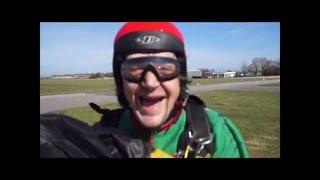 Saut de reprise à Dieppe avec Air libre parachutisme