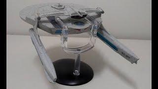 Star Trek en Esperanto - elpakigo de stelŝipo USS Reliant, de Stela Fluto