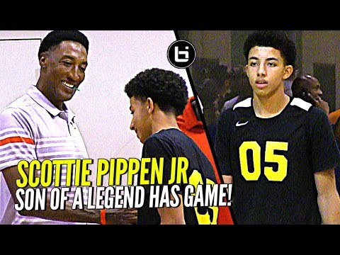 Thumbnail: Scottie Pippen's Son Watching Too Much Steph Curry! Scottie Pippen Jr at Nike Elite 100!