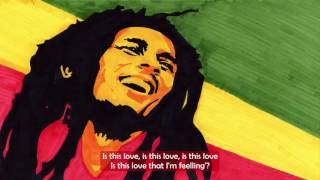Bob Marley ft.  LVNDSCAPE and Bolier - Is This Love - Lyric Video