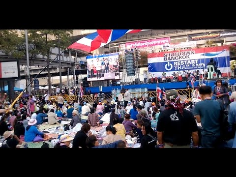 Bangkok Protest and Tourism - 2